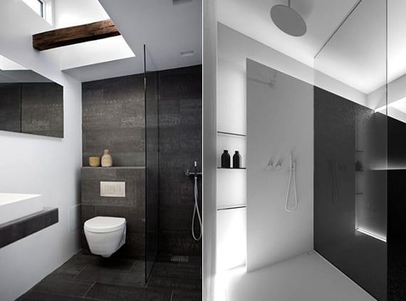 Emejing Badezimmer Schwarz Weiß Gallery - Home Design Ideas - weies badezimmer modern gestalten
