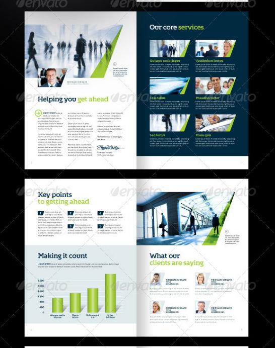 40+ Best Corporate Brochure Print Templates of 2013 Fripin