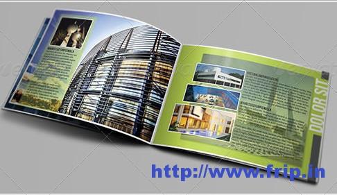 Best 40 Portfolio Brochure Design Print Templates Fripin - architecture brochure template