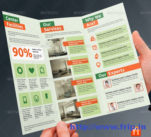 60 Best Medical Brochure Design Print Templates 2017 Fripin - healthcare brochure