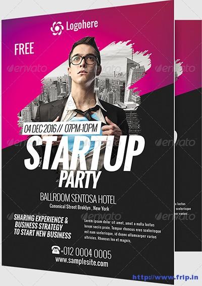 business event flyers - Baskanidai - new business flyers