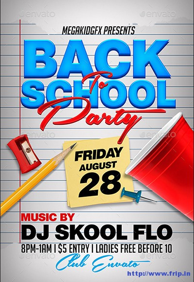 free back to school flyer template - Selol-ink - free school flyer template