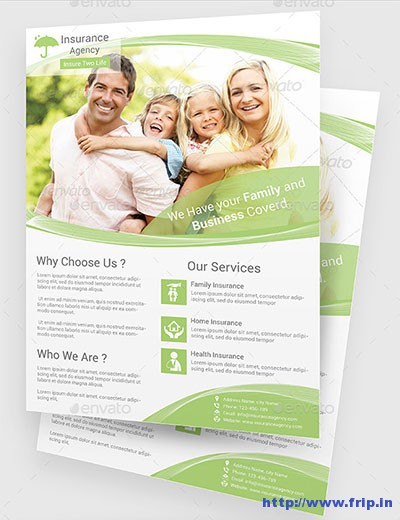 30+ Best Insurance Flyer Print Templates Fripin - insurance flyer templates
