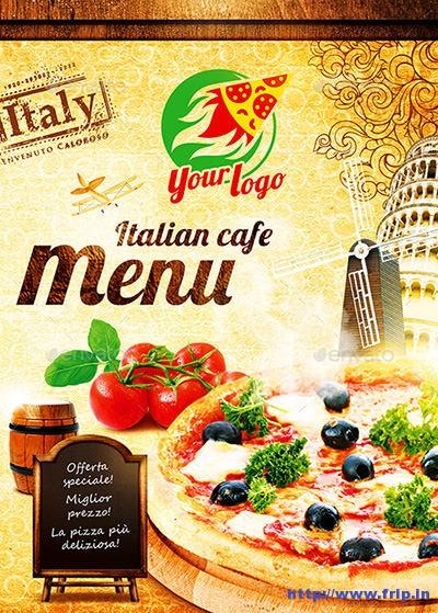 100 Great Restaurant Food Menu Print Templates 2016 Fripin - Sample Pizza Menu Template