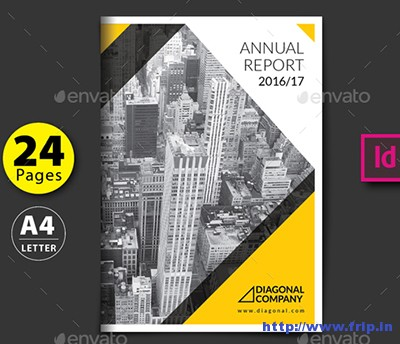 50 Best Annual Report InDesign Print Template 2016 Fripin