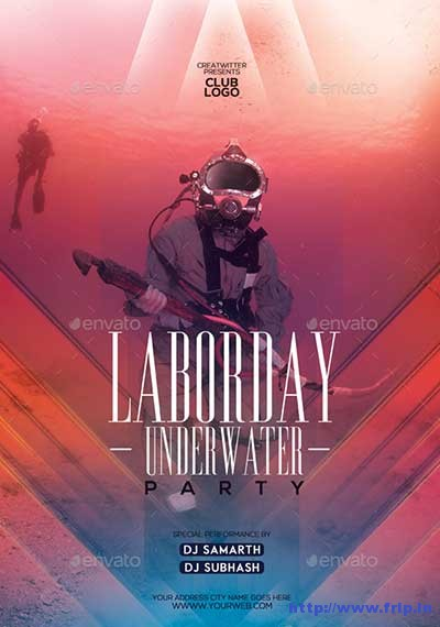 20+ Best Labor Day Flyer Templates 2018 Fripin