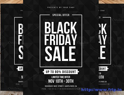 50 Best Black Friday Sale Flyer 2018 Fripin