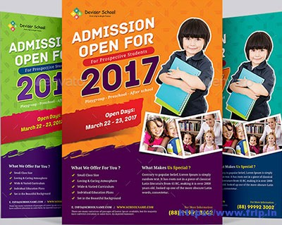 30 Best School Flyer Print Templates 2017 Fripin
