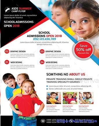 30 Best School Flyer Print Templates 2017 Fripin
