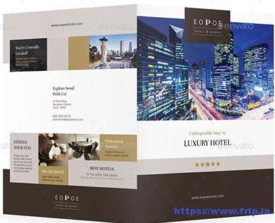 Hotel Brochure Template Elegant Hotel Brochure Template Gallery Of