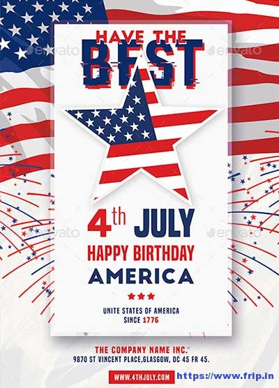 fourth of july flyer template free - Goalblockety