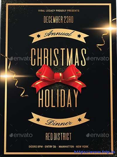 Christmas-Holiday-Dinner-Flyer Fripin