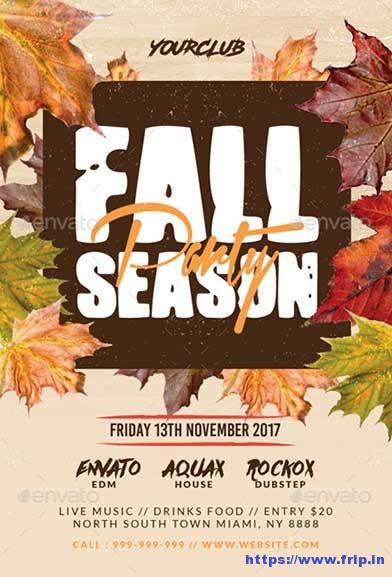 80+ Best Fall Festival Flyer Print Template 2017 Fripin - fall flyer