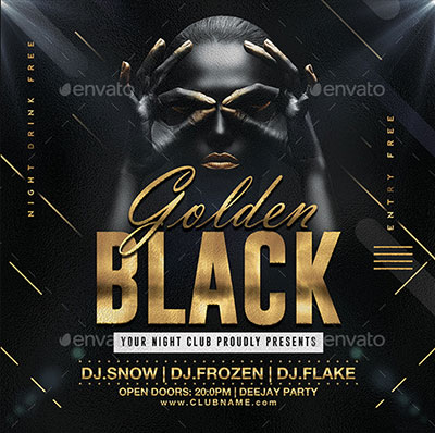 35+ Best Black Friday Club Party Flyers 2018 Fripin