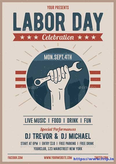 Labour Day Flyer Template Canada Day Flyer Template Flyer Templates - labour day flyer template