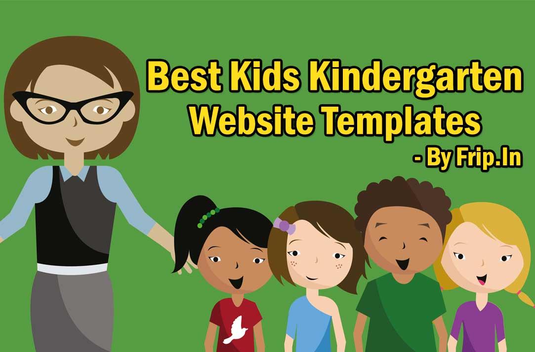 25+ Best Kids Website Templates 2018 Fripin