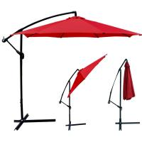 New Patio Umbrella Offset 10' Hanging Umbrella Outdoor ...