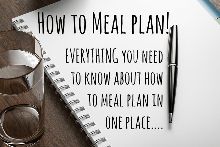 meal plan maker