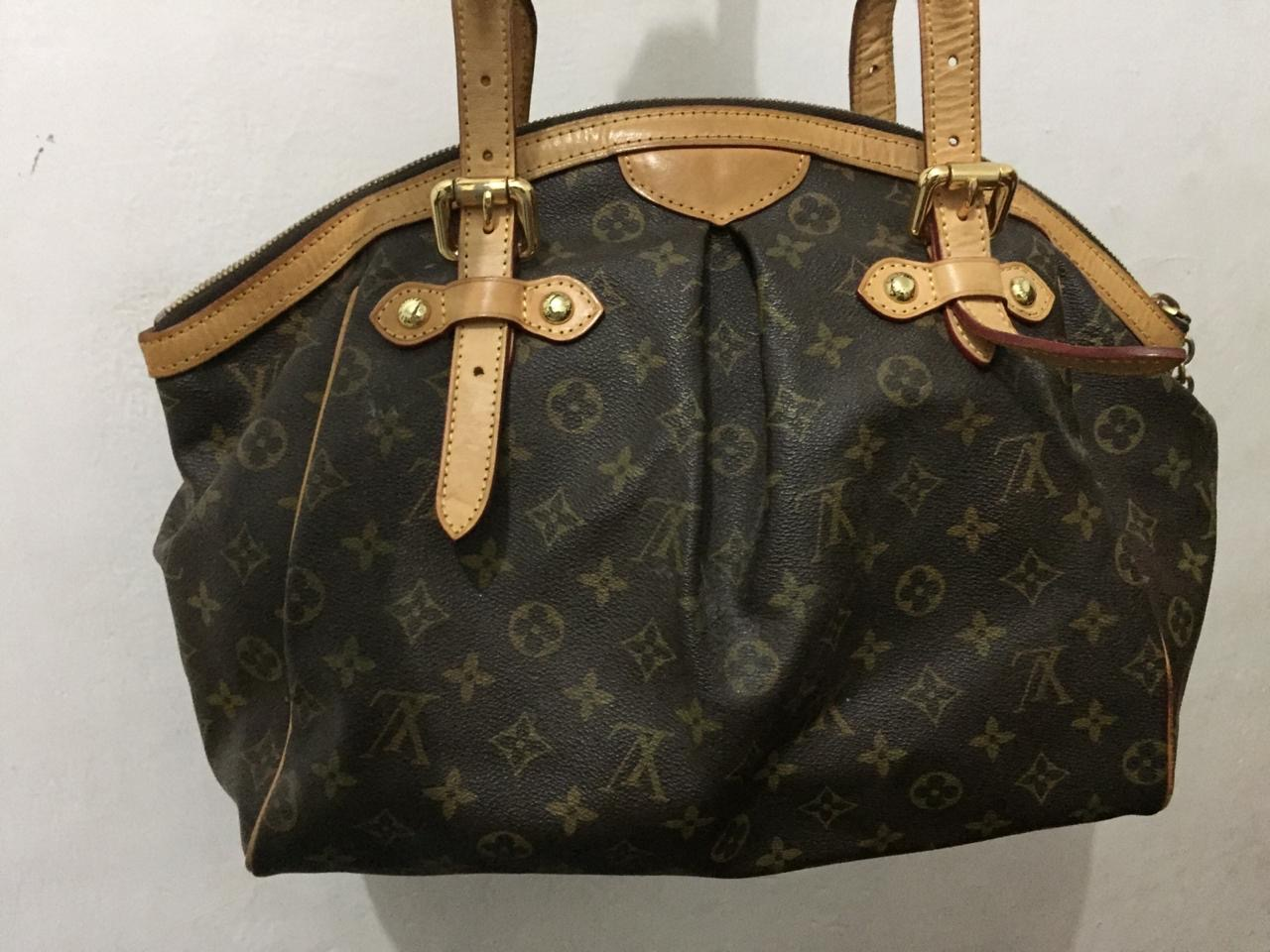 Tivoli Gm Vintage Louis Vuitton Monogram Tivoli Gm Handbag Sp0035