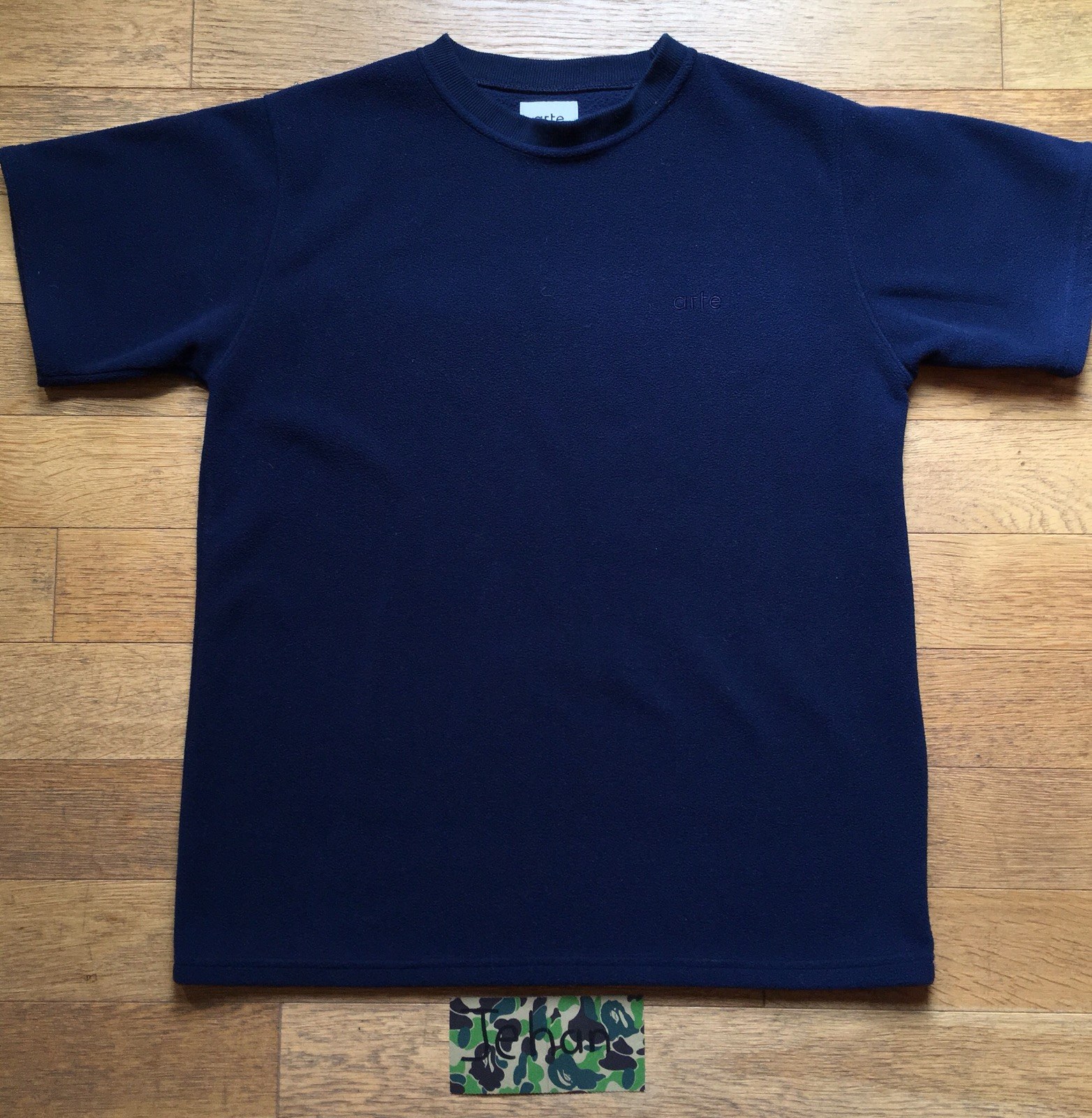 Arte Antwerp T Shirt Arte Polar Navy T Shirt