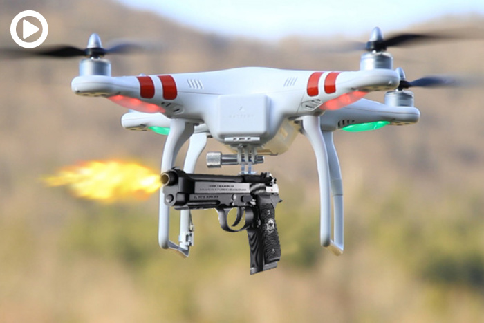 Drone Met Camera Will The Government Ban These Drones Equipped With Guns