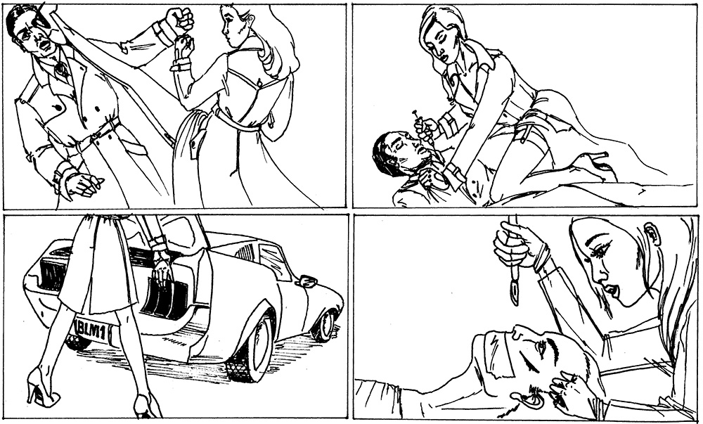 Marc  Louis Photography Storyboard their bloody shoots Fstoppers