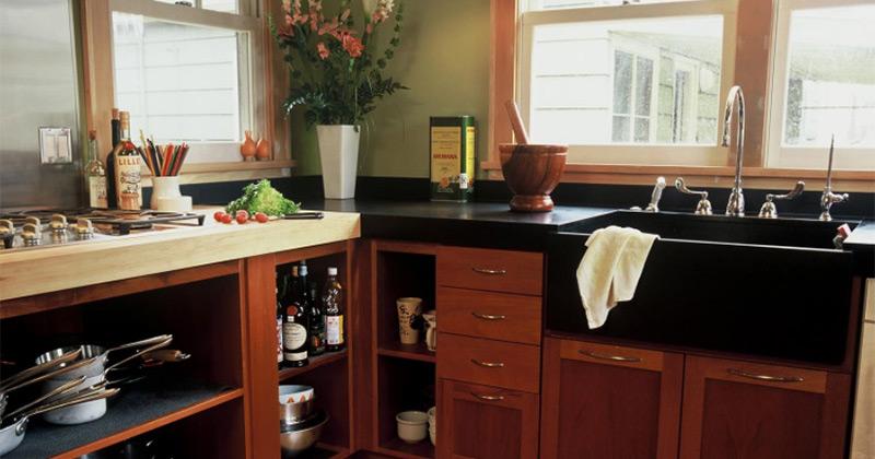 Bold Modern Black Kitchen Sink Ideas Full Home Living