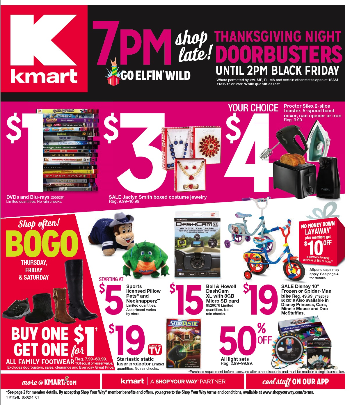 Back Friday Kmart Black Friday 2017 Funtober
