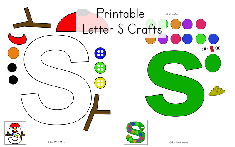 Letter S Worksheets Printables And Crafts Fun With Mama