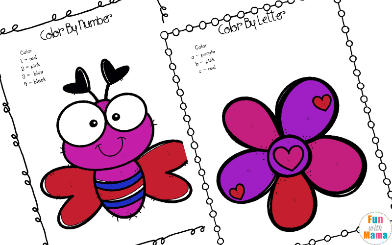 Valentine\u0027s Day Printables Pack - Fun with Mama