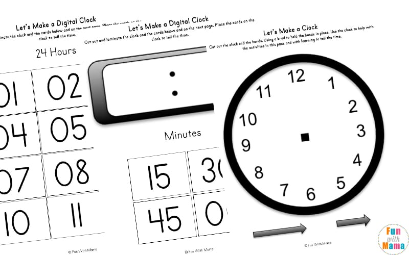 Telling Time Worksheets - time worksheets