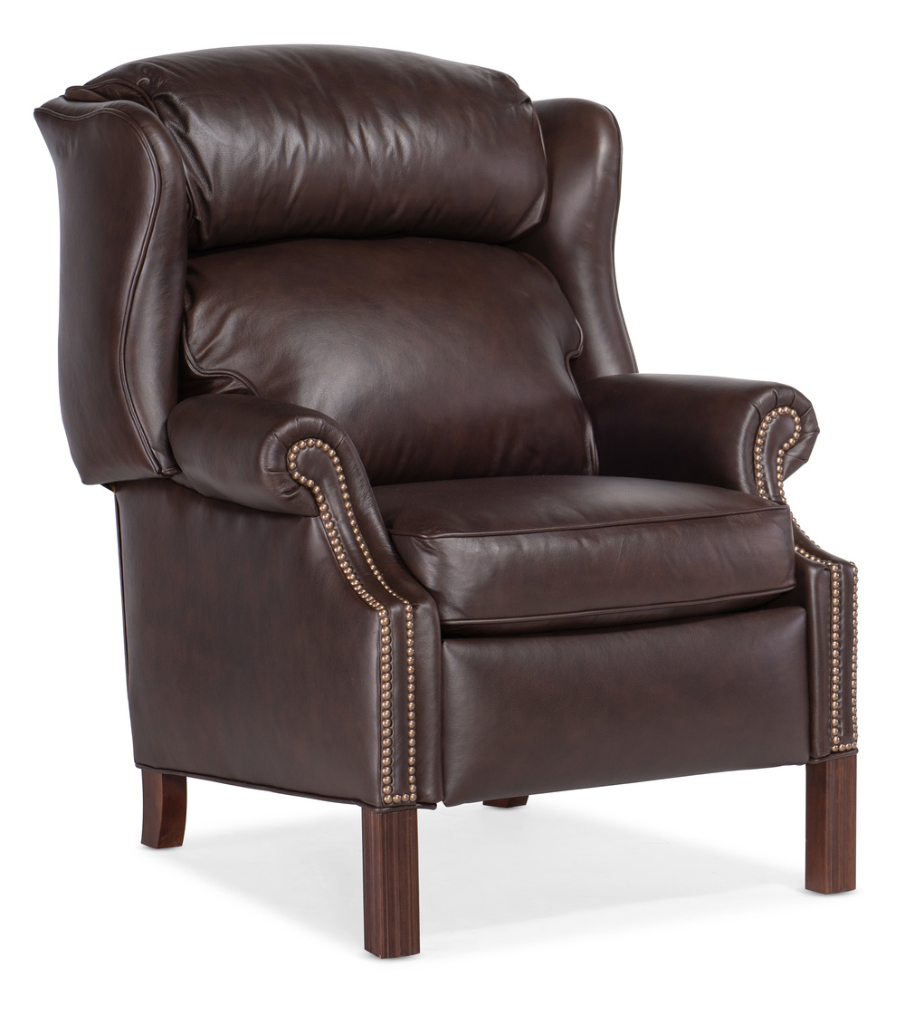 Chippendale Reclining Wing Chair By Bradington Young Furnitureland South The World S Largest Furniture Store