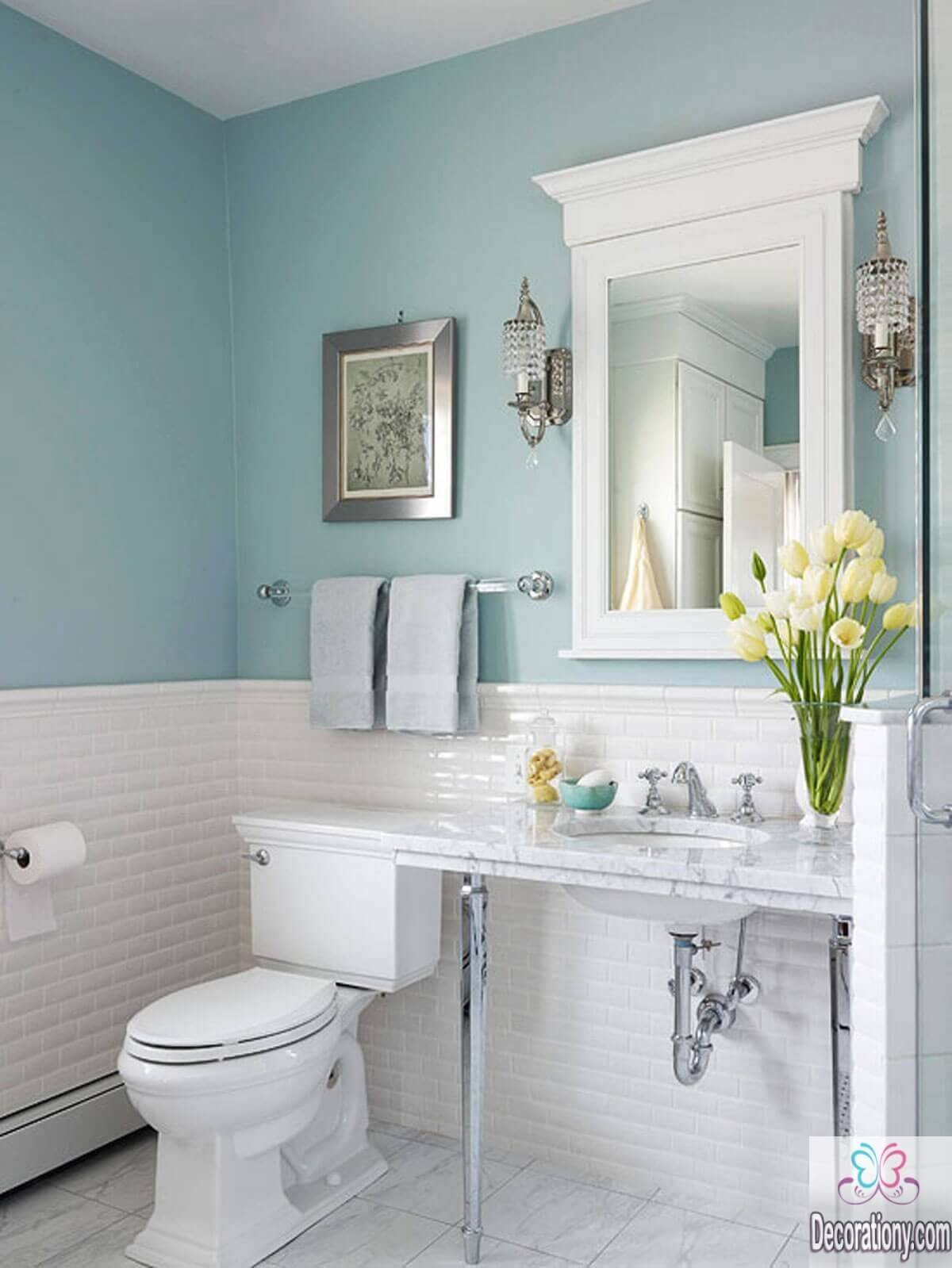 Simple Bathroom Colors Placement Gabe Jenny Homes