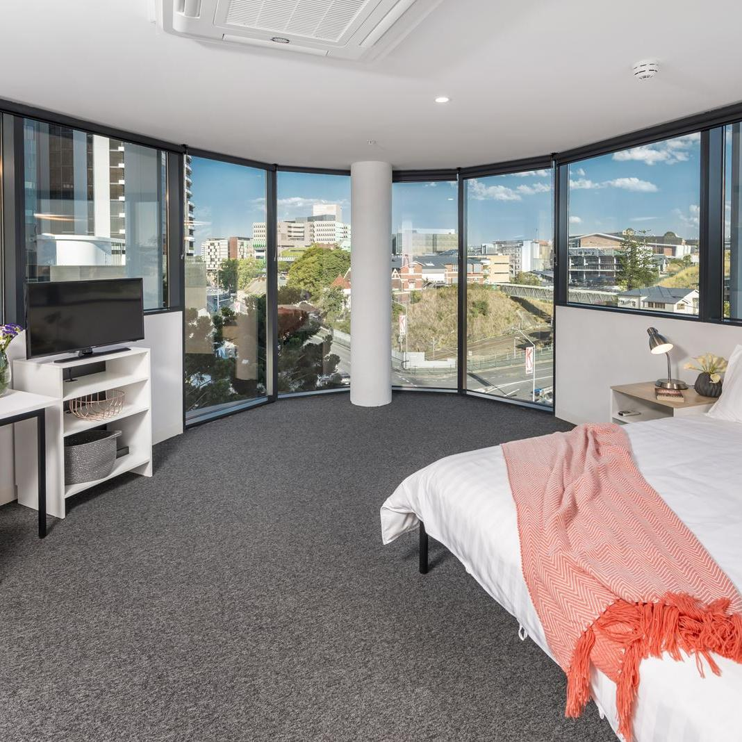Studio Apartment Brisbane Rent Unilodge South Bank Student Accommodation South Bank