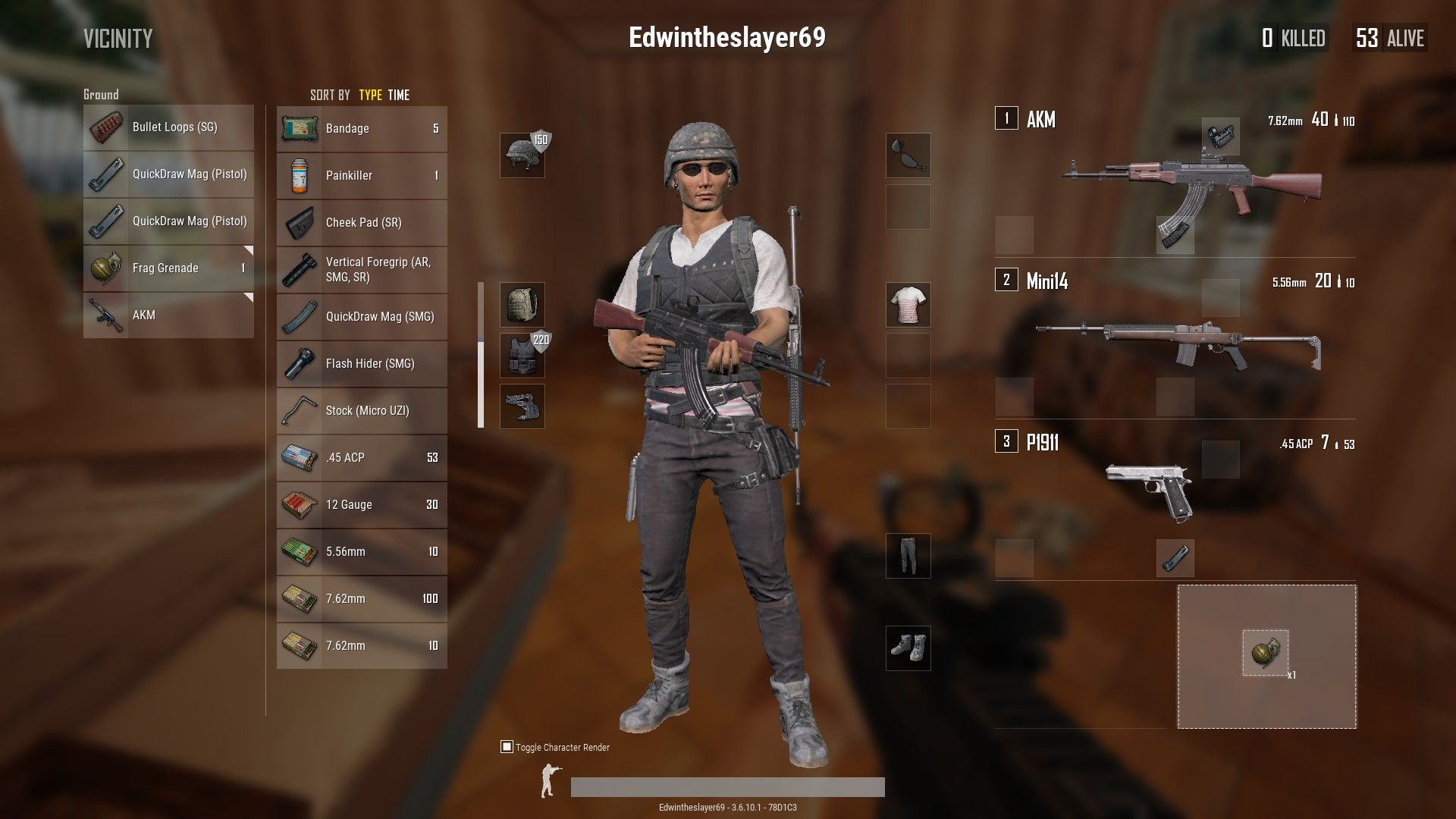 Cuisine Royale Guide Pubg How To Equip Guns Attachments And Grenades Guide Metabomb