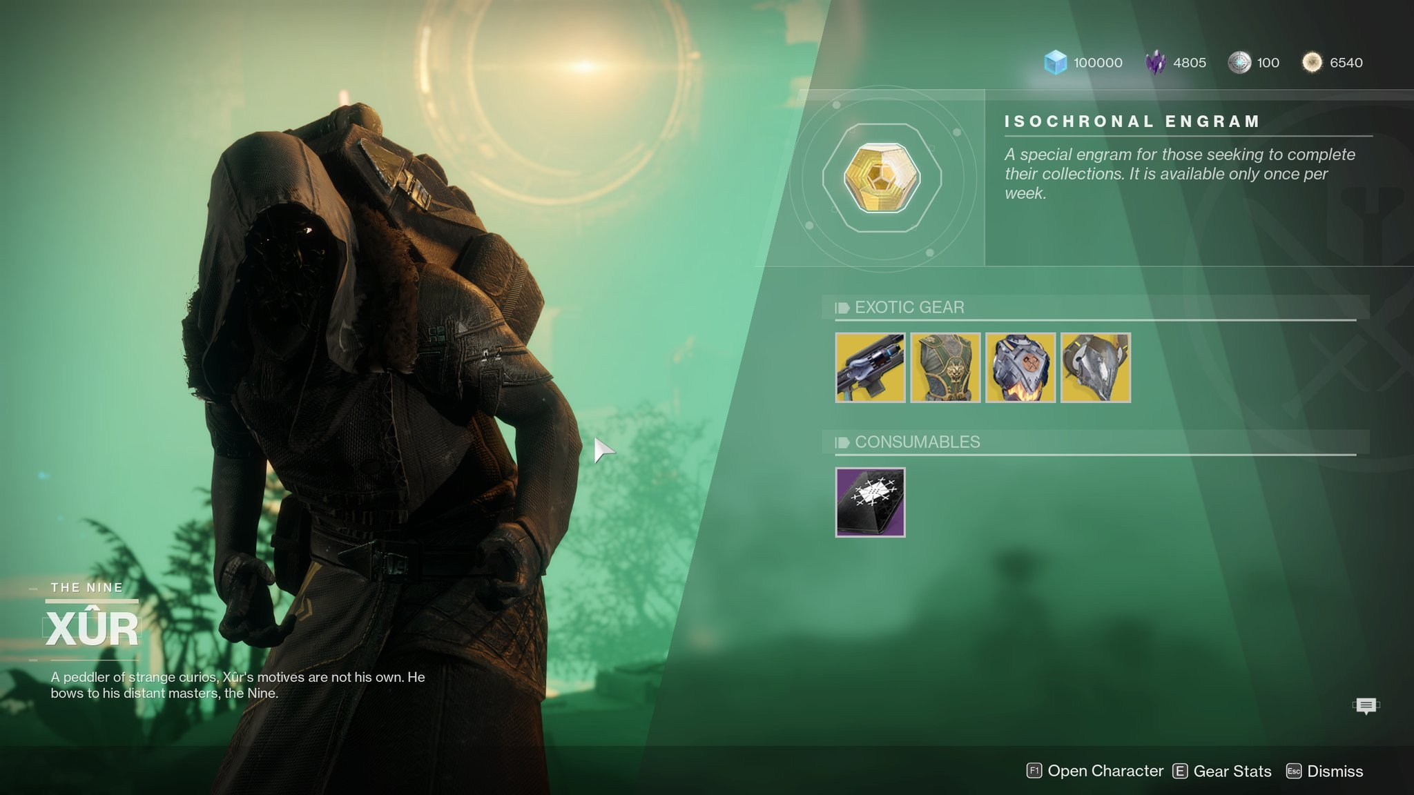 Xur Destiny 2 Xur Location Fated Engrams Explained What Time