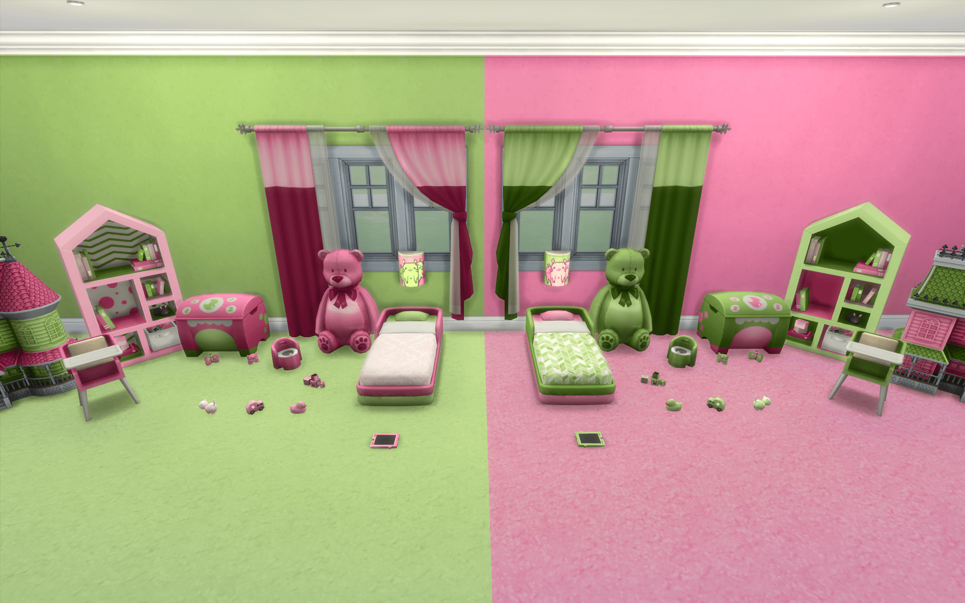 Toddler Girl Bedroom Wallpaper The Sims 4 Mods Sims 4 Trait Vampire And Hair Mods The