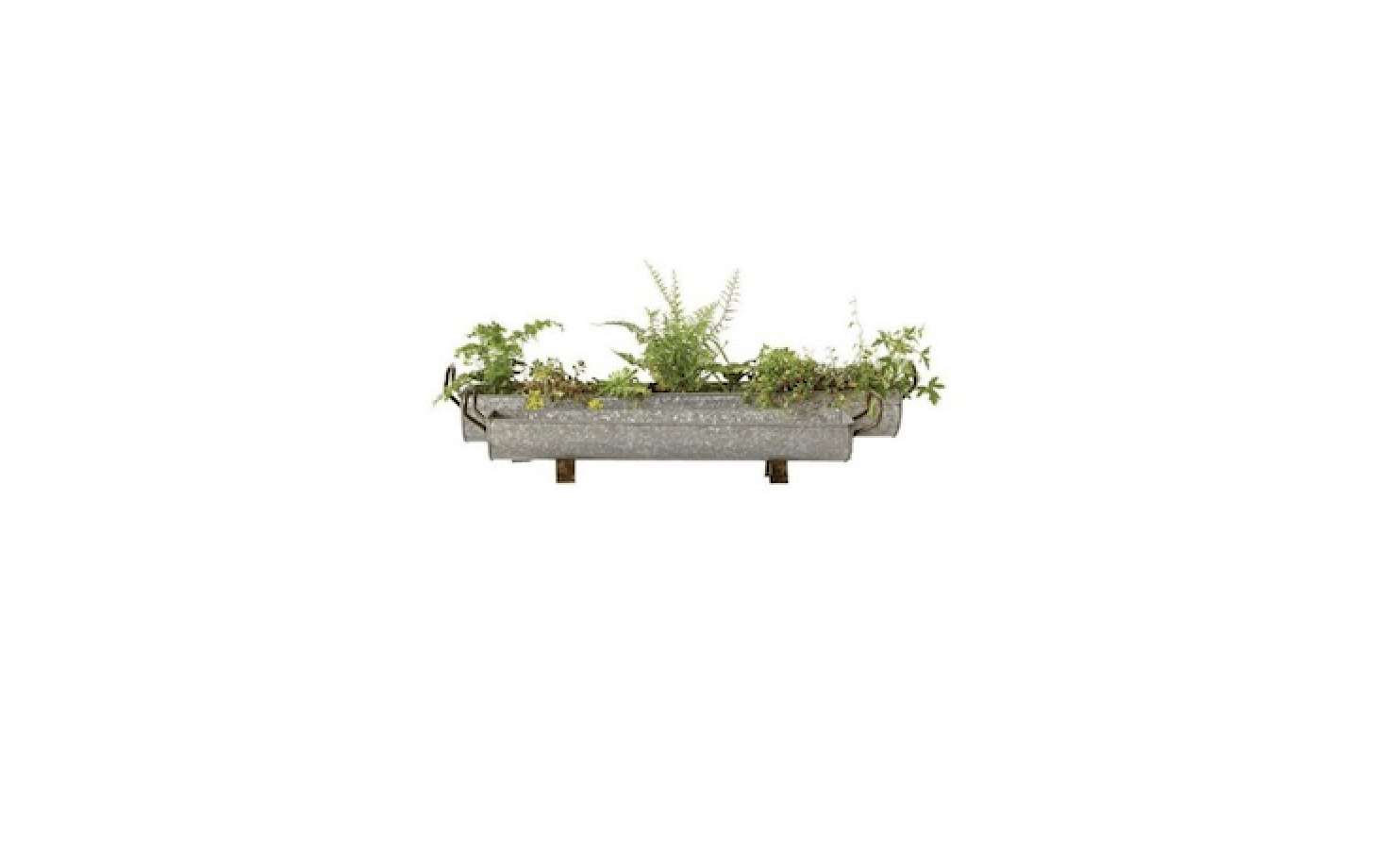 Outdoor Planters Near Me 10 Easy Pieces Galvanized Trough Planters Gardenista