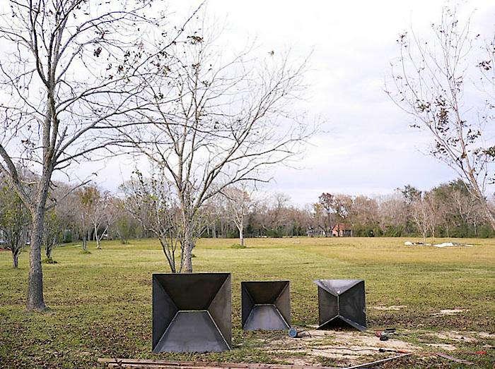 Geometric Fire Pit Do The Math Gardenista