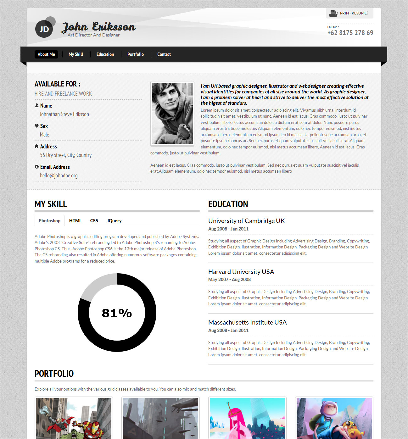 Resume Templates For Word  Resume Template For Word Software S