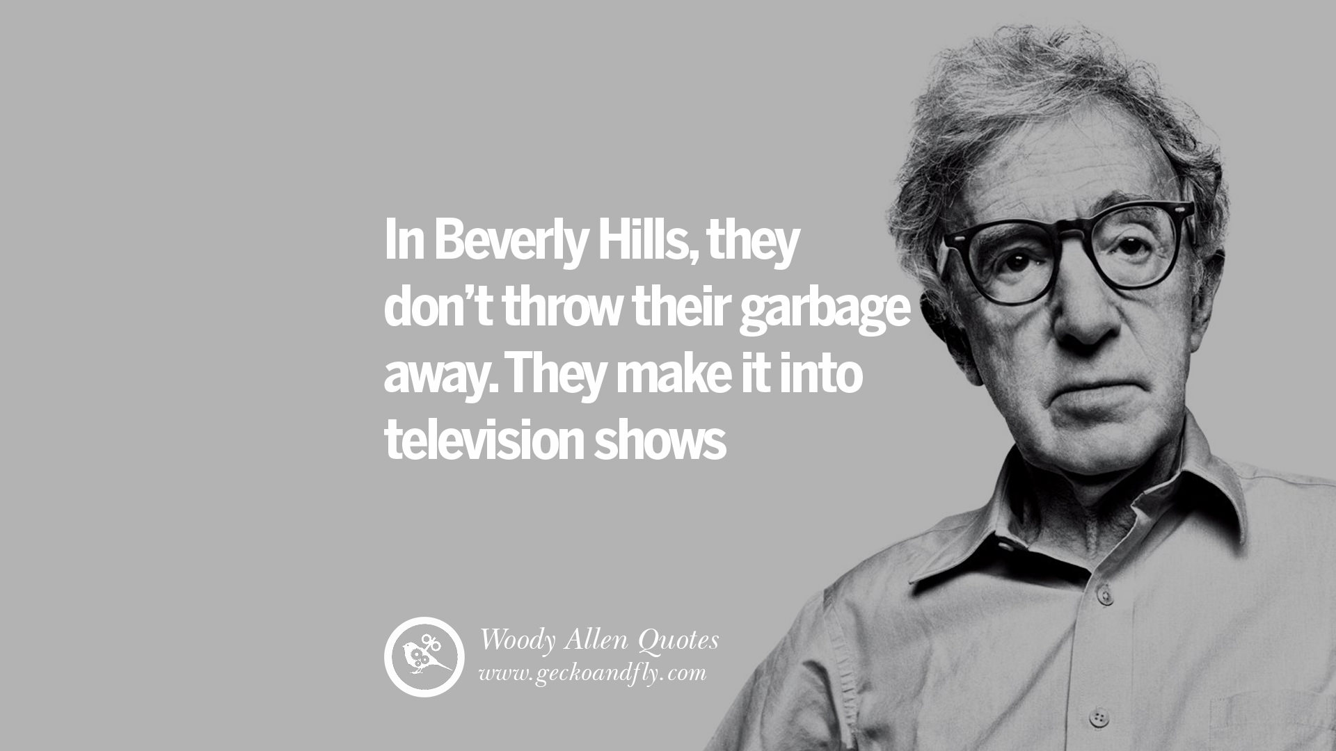Poverty Wallpapers With Quotes 24 Woody Allen Quotes On Movies Films Life Religion And