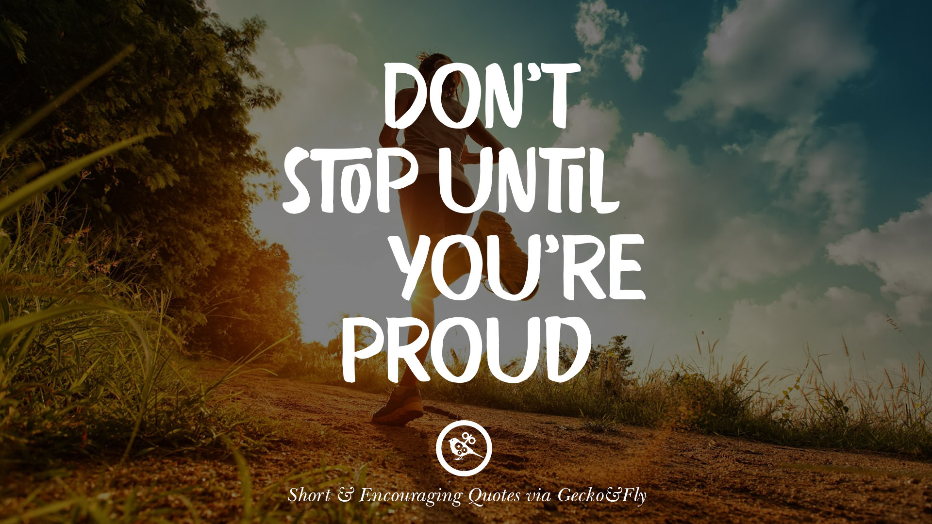 Goal Wallpapers Quotes To Stay Fit Fitness Motivation Quote Don39t Stop Until You39re Proud