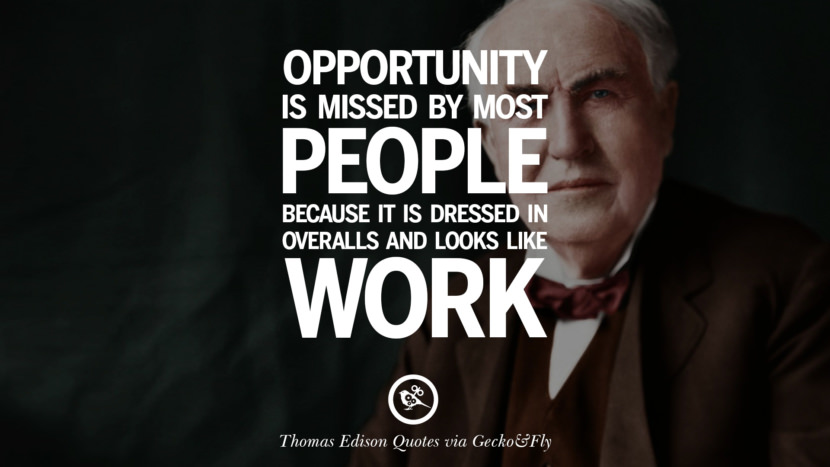 Businessman Wallpaper Quotes 10 Empowering Quotes By Thomas Edison On Hard Work And Success