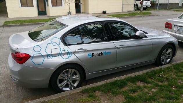 BMW\u0027s ReachNow car-sharing service launches new \u0027Corporate Fleet\u0027 at