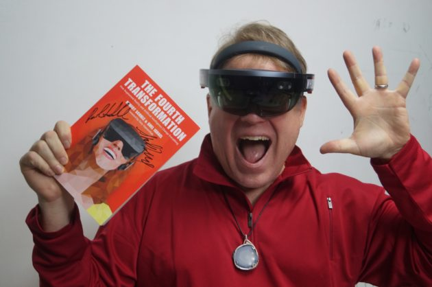QA Tech evangelist Robert Scoble predicts mixed reality devices
