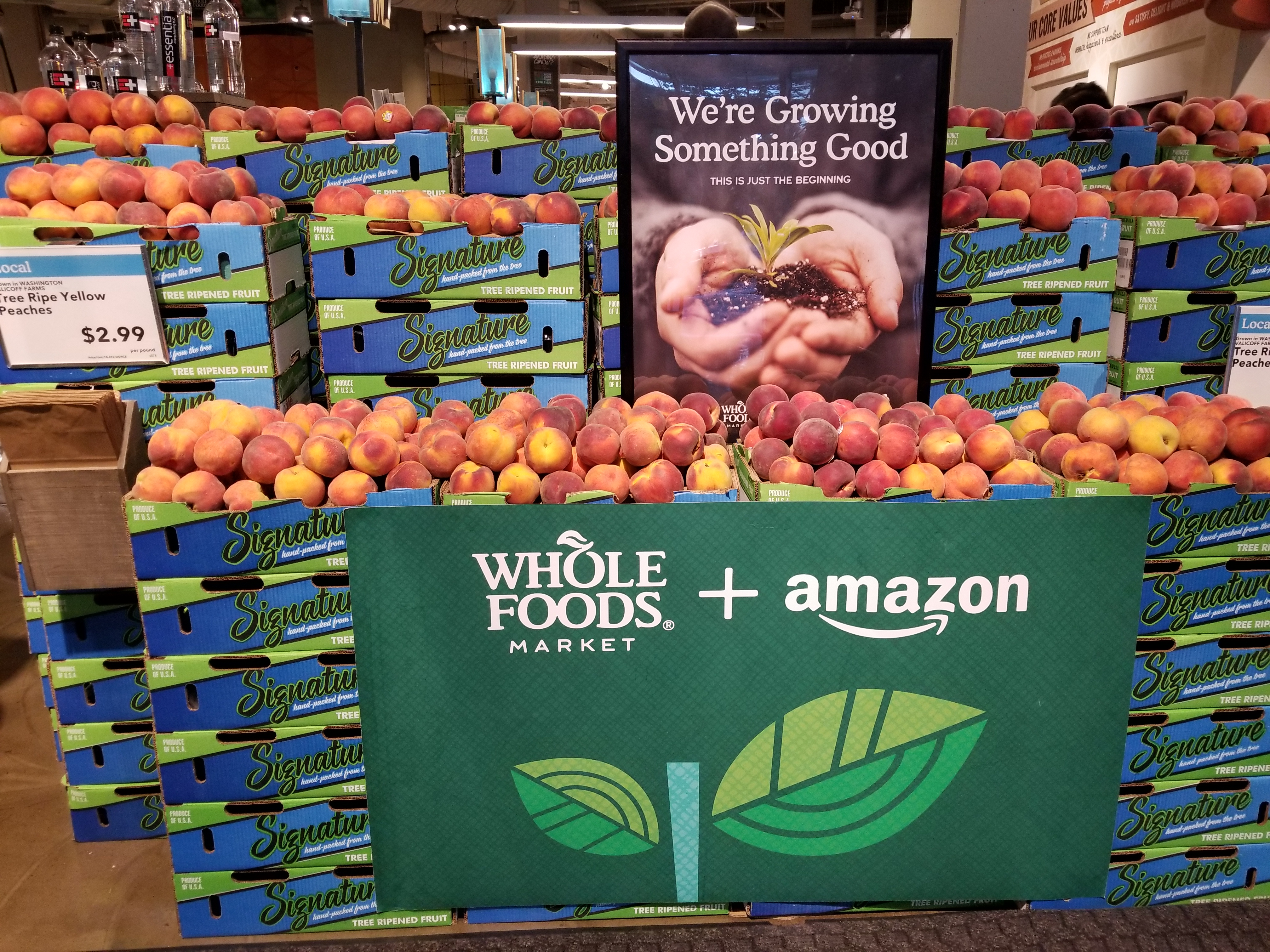 Amazon Whole Foods Amazon Whole Foods One Year Later How Tech Is Reshaping