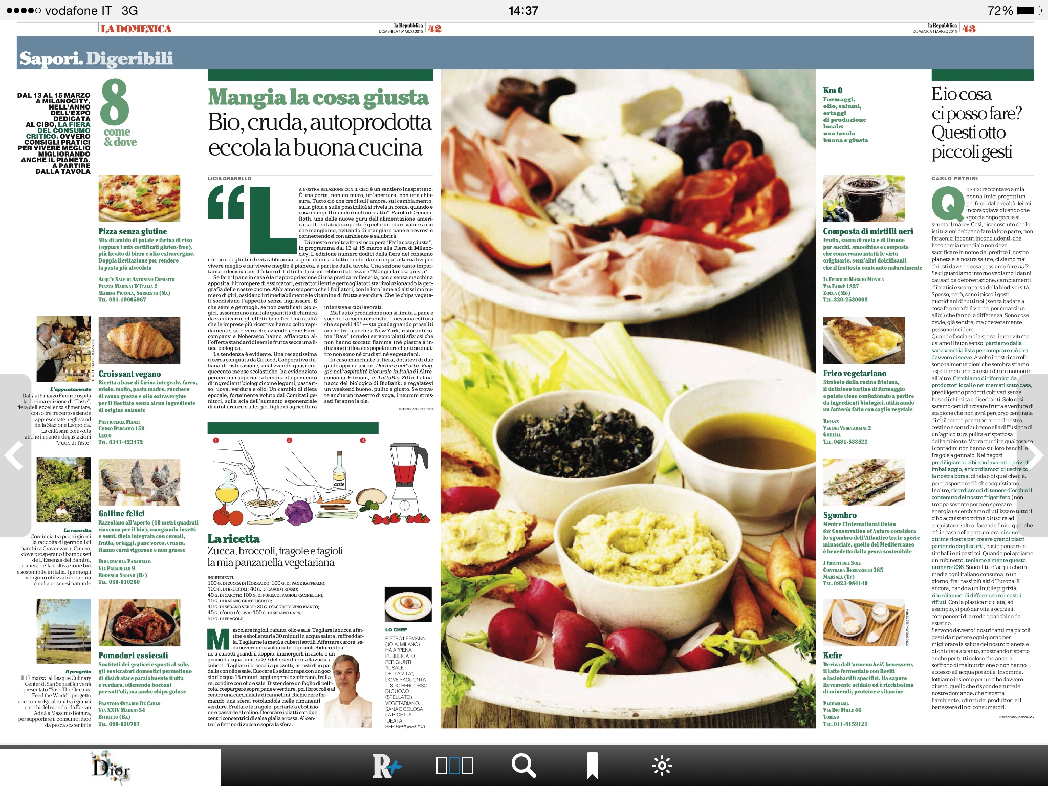 Voda.it/cucina Italiana Pane Nostrum Blog Repubblica It