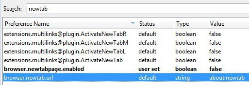 disable firefox newtab page