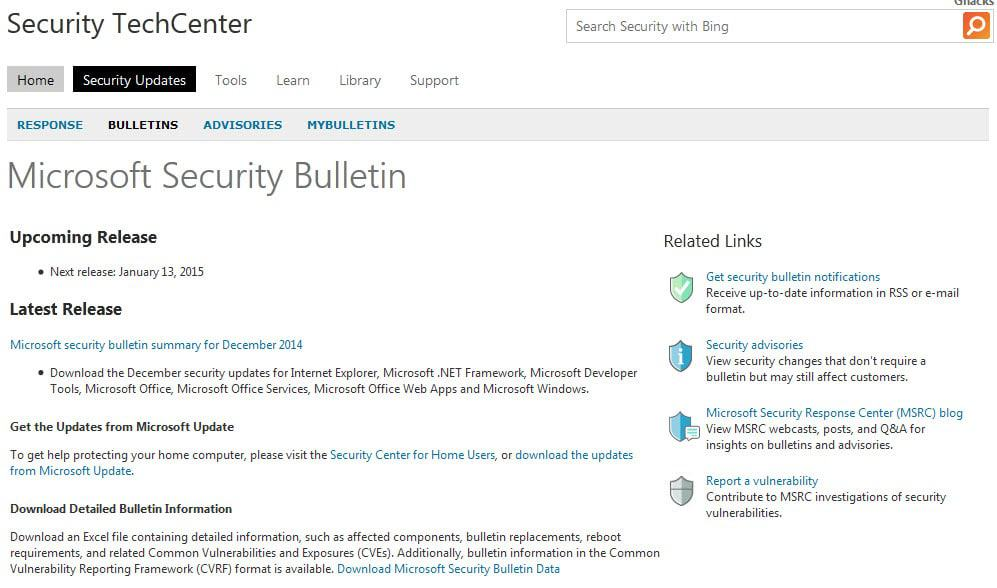 Microsoft won\u0027t release Advanced Security Notifications for free - microsoft bulletin