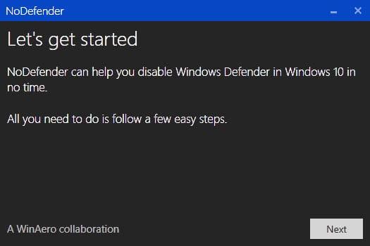 Cara menonaktifkan Windows Defender di Windows 10 permanen